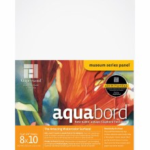 Aquabord, Uncradled 1/8 in. Profile, 8 in. x 10 in.