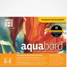 Aquabord, Uncradled 1/8 in. Profile, 8 in. x 8 in.