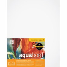 Aquabord, Uncradled 1/8 in. Profile, 11 in. x 14 in.