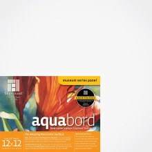Aquabord, Uncradled 1/8 in. Profile, 12 in. x 12 in.