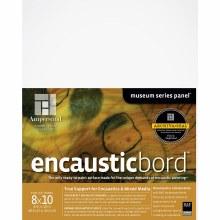Encausticbord, 1/4 in. Profile, 8 in. x 10 in.