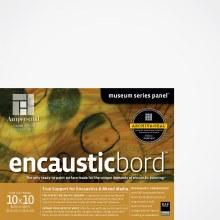 Encausticbord, 1/4 in. Profile, 10 in. x 10 in.