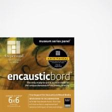 Encausticbord, 1-1/2 in. Profile, 6 in. x 6 in.