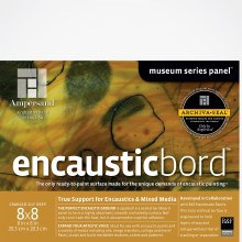 Encausticbord, 1-1/2 in. Profile, 8 in. x 8 in.