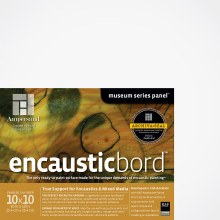 Encausticbord, 1-1/2 in. Profile, 10 in. x 10 in.
