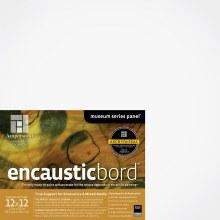 Encausticbord, 1-1/2 in. Profile, 12 in. x 12 in.