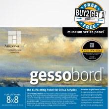 Gessobord Buy Two, Get One Pre-Packs, 8 in. x 8 in. - 1/8 in. Buy 2/Get 1 free GBS088 (pre-pack)