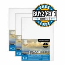 Gessobord Buy Two, Get One Pre-Packs, 9 in. x 12 in. - 1/8 in. Buy 2/Get 1 free GBS09 (pre-pack)
