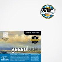 Gessobord Buy Two, Get One Pre-Packs, 12 in. x 12 in. - 1/8 in. Buy 2/Get 1 free GBS122 (pre-pack)