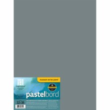 Pastelbord, 12 in. x 16 in. - Gray