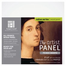 """Primed Smooth Panel, 1-1/2"""" Profile, 8"""" x 8"""""""