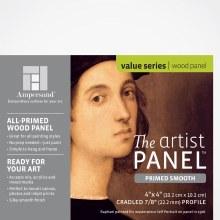 Primed Smooth Panel, 7/8 in. Profile, 4 in. x 4 in.