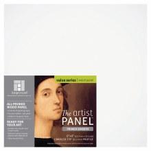 Primed Smooth Panel, 7/8 in. Profile, 6 in. x 6 in.