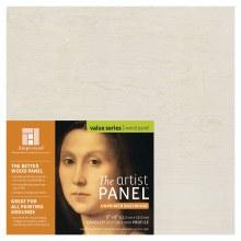 "Unprimed Basswood Panel, 1-1/2"" Profile, 6"" x 6"""