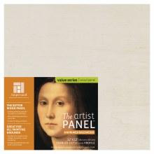 "Unprimed Basswood Panel, 1-1/2"" Profile, 12"" x 12"""