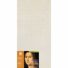 """Unprimed Basswood Panel, 1-1/2"""" Profile, 12"""" x 24"""" In-Store Pickup Only"""