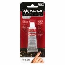 Rub - n Buff Metallic Finishes, Silver Leaf - 1/2 oz. Tube