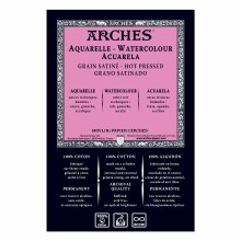 Arches Watercolor Pads, Hot-Pressed, 140lb, 22 in. x 30 in.