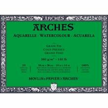 Arches Watercolor Blocks, Cold-Pressed, 140lb, 10 in. x 14 in.