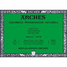Arches Watercolor Blocks, Cold-Pressed, 140lb, 14 in. x 20 in.