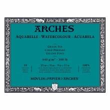 Arches Watercolor Blocks, Cold-Pressed, 300lb, 9 in. x 12 in.