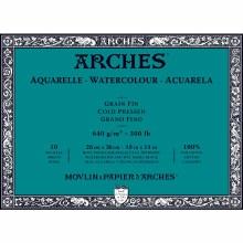 Arches Watercolor Blocks, Cold-Pressed, 300lb, 10 in. x 14 in.