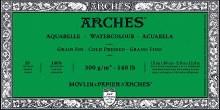 Arches Watercolor Blocks, Cold-Pressed, 140lb, 5 in. x 11 in.