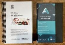UAB ARS280 Workbook & Mixed Media Sketchbook ONLY