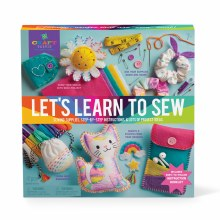 Craft-Tastic Let's Learn To Sew Kit