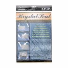 Krystal Seal Bags, 8.5 in. x 11 in. - 25/Pkg.