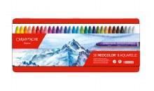 Neocolor II Oil Pastels, 30-Color Set