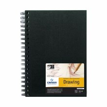 Canson Field Drawing Books, 7 in. x 10 in. - 90 lb. 60/Sht. Wire Bound
