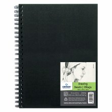 Canson Field Drawing Books, 9 in. x 12 in. - 90 lb. 60/Sht. Wire Bound