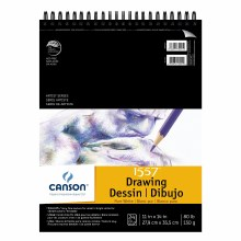 Canson Drawing Pads, Pure White, 11 in. x 14 in. - 24 Shts./Pad