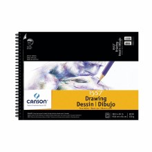 Canson Drawing Pads, Pure White, 18 in. x 24 in. - 24 Shts./Pad