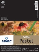 Canson Mi-Teintes Paper Pads, 9 in. x 12 in. - Earthtones - 24 Shts./Pad