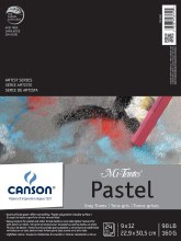 Canson Mi-Teintes Paper Pads, 9 in. x 12 in. - Grays - 24 Shts./Pad