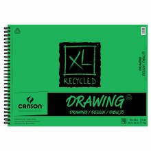 Canson XL Recycled Drawing Pads, 18 in. x 24 in. - Wire-Bound, 30 Shts./Pad