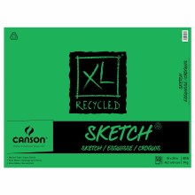 Canson XL Recycled Sketch Pads, 18 in. x 24 in. - 50 Sheets/Pad