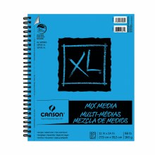 Canson XL Mix Media Pads, 11 in. x 14 in. - 60 Shts./Pad
