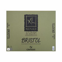 Canson XL Recycled Bristol Pads, 14 in. x 17 in. - 25 Shts./Pad