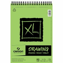 Canson XL Drawing Pads, 9 in. x 12 in. - 60 Shts./Pad