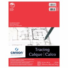 Canson Tracing Pads, 11 in. x 14 in. - 25 lb. 50 Shts./Pad