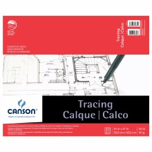 Canson Tracing Pads, 14 in. x 17 in. - 25 lb. 50 Shts./Pad