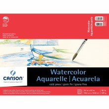 Canson Watercolor Pads, 15 in. x 20 in. - 15 Shts./Pad
