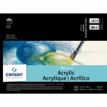 Canson Montval Acrylic Paper, 12 in. x 16 in. Pad - 10 Shts./Pad