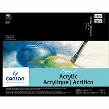 Canson Montval Acrylic Paper, 16 in. x 20 in. Pad - 10 Shts./Pad