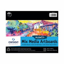 Canson Plein Air Mix Media Artboard Pads, 8 in. x 10 in. - 10 Shts./Pad