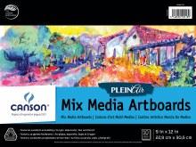 Canson Plein Air Mix Media Artboard Pads, 9 in. x 12 in. - 10 Shts./Pad