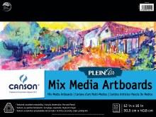 Canson Plein Air Mix Media Artboard Pads, 12 in. x 16 in. - 10 Shts./Pad
